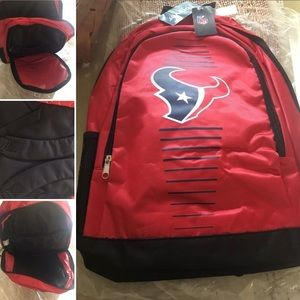 Houston Texans NFL Back Pack Brand New w/ Tags